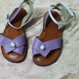 Sandalo infradito incrociato