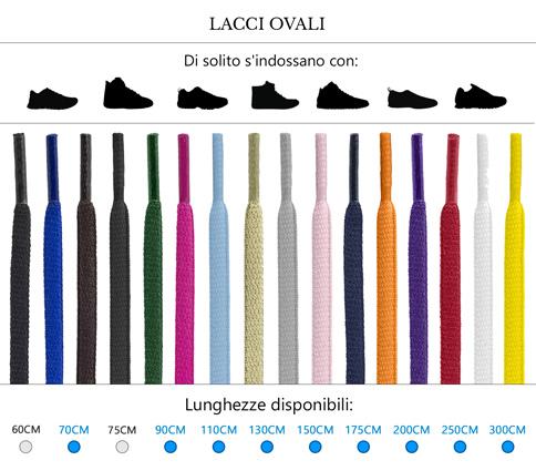 Lacci colorati - Calzoleria Paoletti a603c833e27